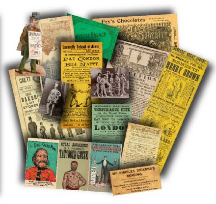 Victorian Entertainment Memorabilia Pack